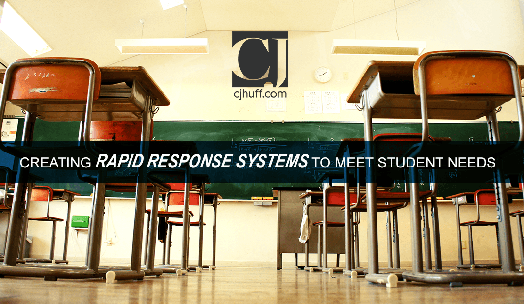 Creating Rapid Response Systems to Meet Student Needs