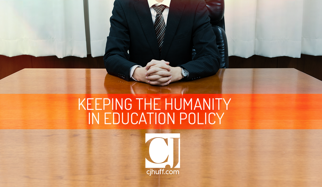 Keeping The Humanity In Education Policy