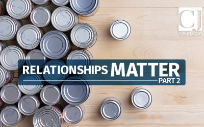 Relationships Matter Part 2: Outside the School