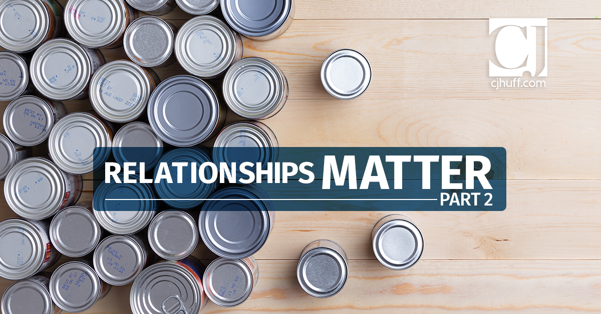 Relationships Matter Part 2: Outside the School